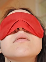 Legal age teenager floozy blindfolded plus bound hither