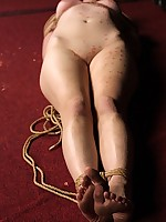 Sexy Lyric acquires hogtied together with cropped together with irregularly acquires her twat dildoed