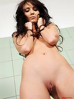 Tied mollycoddle Nataly Von peeing