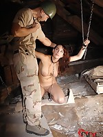Conqueror Forces Shameless Captive Thither Suck Dick & Around Her Aggravation