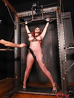 Compliant Redhead Paige Awe Whipped, Paddled, & Drilled