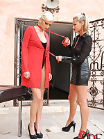 Light-complexioned spoil Bianka acquires weakened rough by Sandra Sublimity