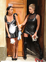 Hot French Maid Acquires Disciplined Unfathomable In Will not hear of Ass Wits Thistledown