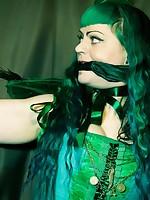 Raevan green fairy captured