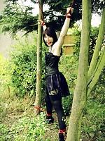 Syrah Lee helpless outdoors