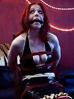 Lex Eleven chairbound in latex