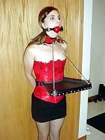 Amateur girls in predicament bondage