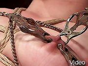 BDSM Movies Naughty babe gets bondage and