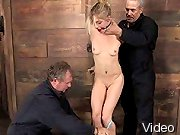 BDSM Movies Gal in extreme bondage and
