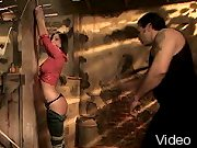 BDSM Movies Brunette punished and bondaged and BdsmTheory.com