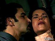 Sandra Rodriguez in a painfull hardcore BDSM scene