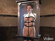 Bizarre Movies Pretty gals in belts bondaged and