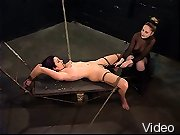 A slave spanked and slapped