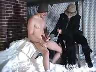 Extreme handjob