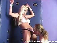 Strapon mistress uses ass of her sub