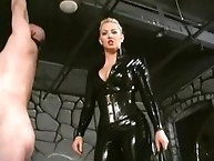 Latx goddess wipping slave man for pleasure