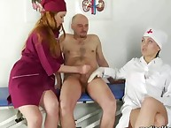 Vicious nurses milked and abused guy