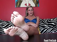 Hot with the addition of bratty roommate foot vitiation