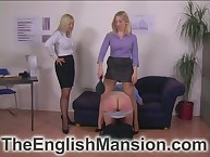 Young blondes spanked coupled with unresounding their atrophied adult submissive intense