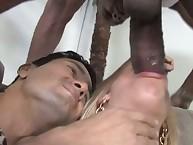 Carla Cox make cuckold love by black prick