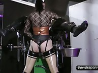 Rubber doxy pegging