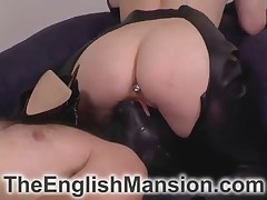 Looser was abused by horny mistress