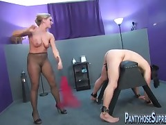 Mistress punished her sex doll