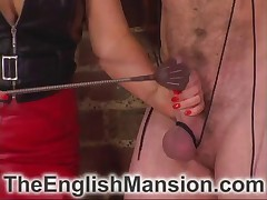 Hardcore cbt from perverted Dominatrix