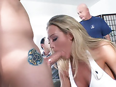 Ass worshipping with slave for Dominatrix