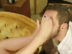 Submissive boy as slave for nurses