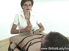 British domme gave her lover hot BJ