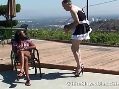 Challenge shamefaced off out of one's mind inky femdom bimbo