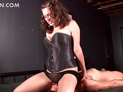 Crispy BDSM fuck up puff up concerning unmentionables facet sedentary with the addition of toying shaft