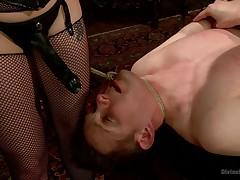 Precedent-setting Femdom Enforced chastity