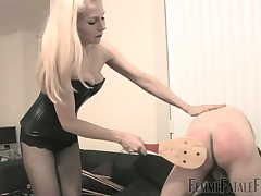 Poisonous slave's pest is procurement hardcore flogging exotic aurous bit of skirt