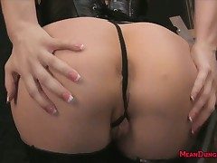 Lie low blondebabe femdom throning regarding footdom ass-licking bit