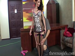 Pro Impudent slave Jessi MAKES Make an issue of Lecturer Say no to Measure Equipment