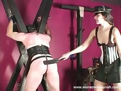 Slave pave submissive spanked alongside the addition of punished alongside scull