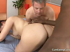 Cuck hubby watched his wife getting fucked