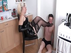 Poor slave was tortured hard by heartless mistress