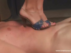 Wife's lover enjoys blowjob from her and her husband and of course her snatch