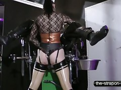 Bitch in rubber bounded malesub