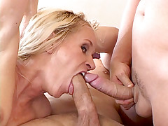 Bitch disciplining subby using a paddle