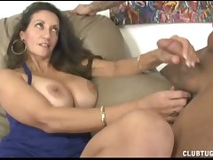 Loved loveliness Persia Minor makes chubby blarney raw cum