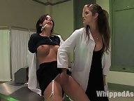 Tricia Oaks over-powered and ass fucked by pissed off bitch.