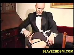 British bums get spanked