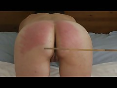 A caning session with whipgirl