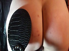 Paddled Ass with Pussy Pump