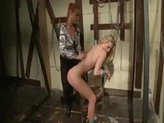 Tied to the chair she gets the spanking of a lifetime