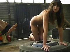 Angie had been whipped and spanked cruel.